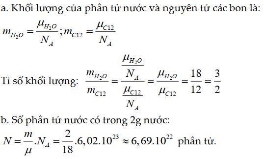 Bài tập 1 thuyết động học phân tử