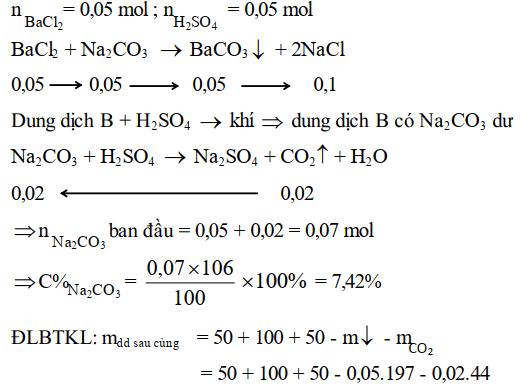 Bài tập định luật bảo toàn khối lượng - bài 3