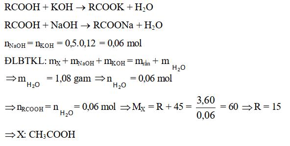 Bài tập định luật bảo toàn khối lượng - bài 4
