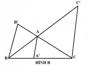 Chứng minh định lý Ceva mở rộng - hình b