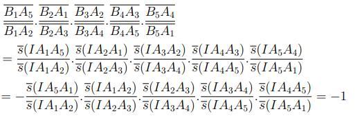 Chứng minh định lý Ceva ngũ giác CT1