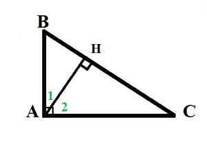 Chứng minh định lý Pytago (Pitago) thuận