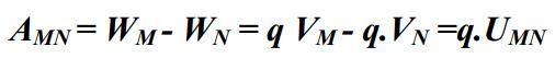 Công thức liên hệ A và W