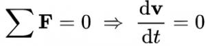 Định luật 1 Newton