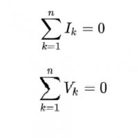 Định luật Kirchhoff 1 và 2