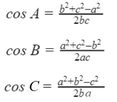 Hệ quả định lý cosin