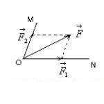 Phân tích một lực thành hai lực thành phần trên hai phương cho trước