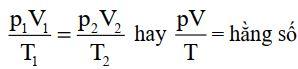 Phương trình trạng thái khí lý tưởng