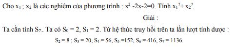 Ứng dụng định lý Vi-et - ví dụ 19