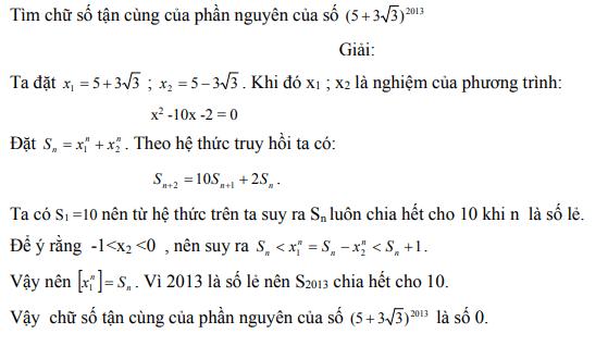 Ứng dụng định lý Vi-et - ví dụ 21