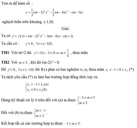 Ứng dụng định lý Vi-et - ví dụ 23